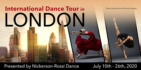 PUERTO RICO (FREE AUDITION) for the International Dance Tour in London tickets