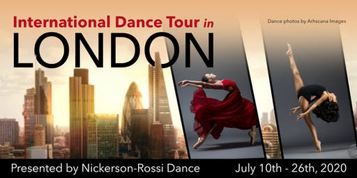 PUERTO RICO (FREE AUDITION) for the International Dance Tour in London