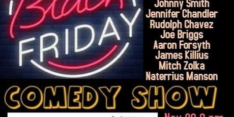 The Black Friday Comedy Showcase at the Whistle & Keg tickets
