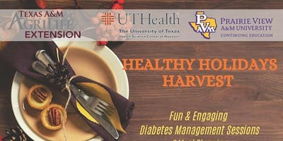 Healthy Holidays Harvest - Diabetes Event