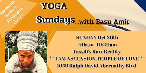 R.A.W LIFE YOGA Sundays