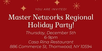 Master Networks NY/NJ & CT Regional Holiday Party