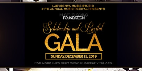 Music is Giving Scholarship & Recital Gala tickets