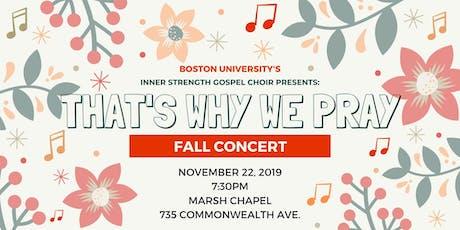 Inner Strength Gospel Choir Fall 2019 Concert tickets