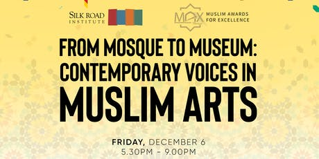 MTL - From Mosque to Museum: Contemporary Voices in Muslim Arts tickets