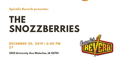 The Snozzberries at Spicoli's tickets