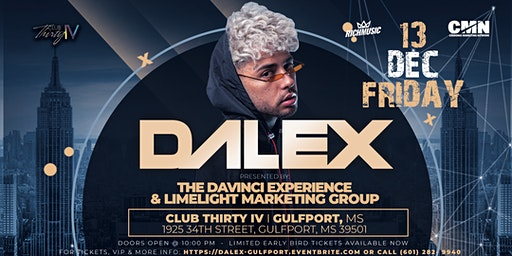 DALEX - LIVE IN CONCERT - GULFPORT, MS