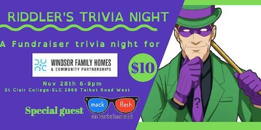 Riddler's Trivia Night
