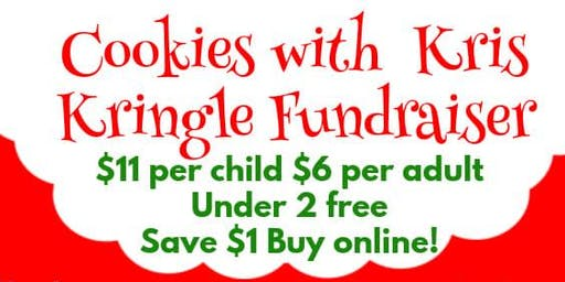 Cookies with Kris Kringle Fundraiser