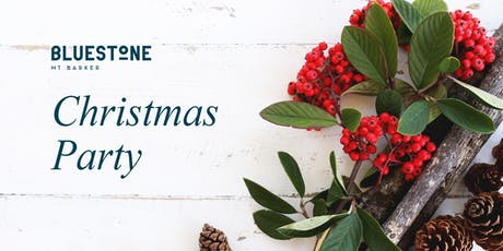 Bluestone Christmas Party 2019 tickets