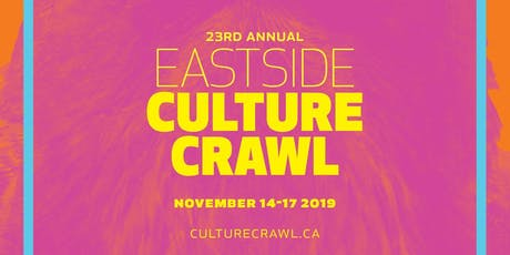 East Side Culture Crawl at Studio 580 tickets