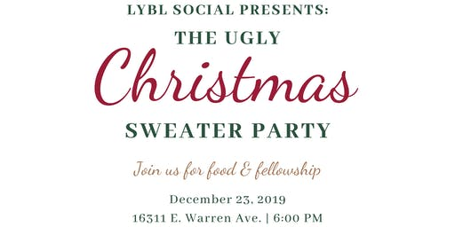 LYBL Social Presents The Ugly Christmas Sweater Party