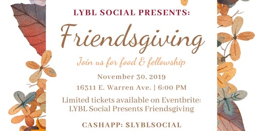 LYBL Social Presents Friendsgiving