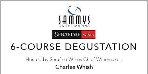 Serafino Wine Dinner at Sammys