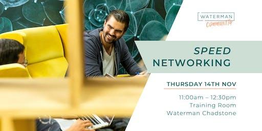 Waterman - Speed Networking