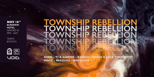 Spektrum Pres. Township Rebellion (3hr Set)