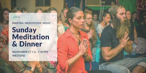 Guided Meditation & Dinner West End, 17th November