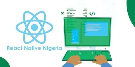 React Native Nigeria Workshop tickets