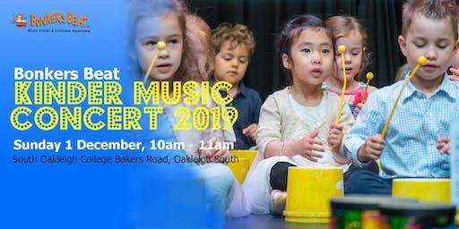 Bonkers Beat Music Kinder in Concert 2019