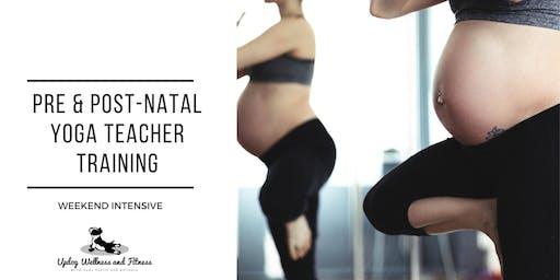 Pre and Postnatal Yoga Teacher Training