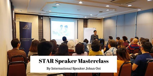 STAR Speaker Masterclass ( Evening Session )