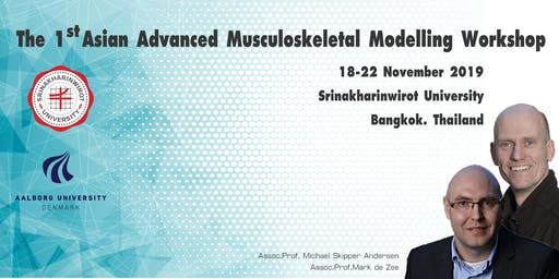 The 1st Asian Advanced Musculoskeletal Modelling Workshop