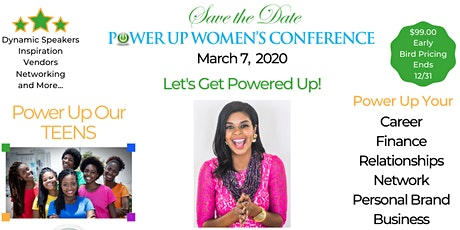 6th Annual Power Up Women's Conference for Women and Teens tickets