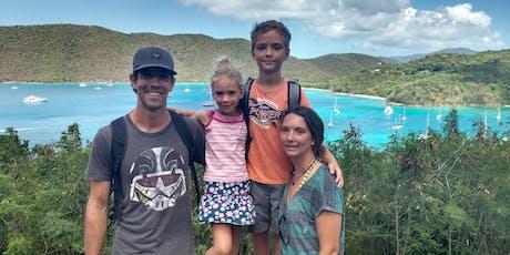 Partir à l'aventure en famille vers les Caraïbes | Par Karine Gentes et Maxime Coydon billets