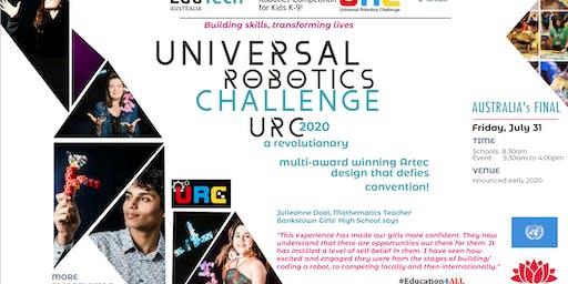 UNIVERSAL ROBOTICS CHALLENGE (URC) 2020 Australia's FINAL
