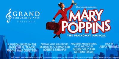Mary Poppins Umbrella Cast