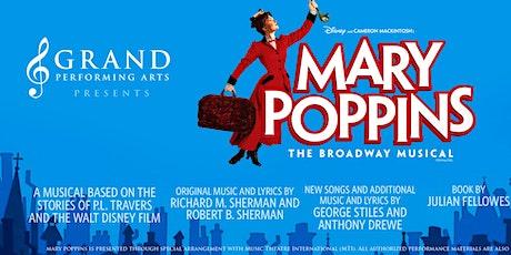 Mary Poppins Umbrella Cast tickets