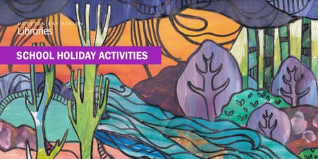 Colourful Landscapes (11-17 years) - Caboolture Library tickets