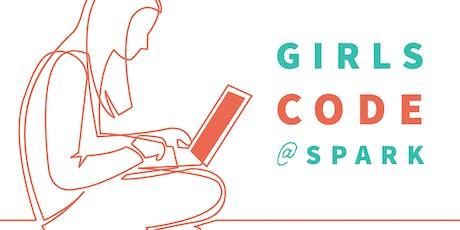 Girls Code @ Spark tickets