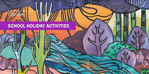 Colourful Landscapes (11-17 years) - Arana Hills Library