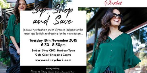 Rodney Clark - Sip, Shop and Save