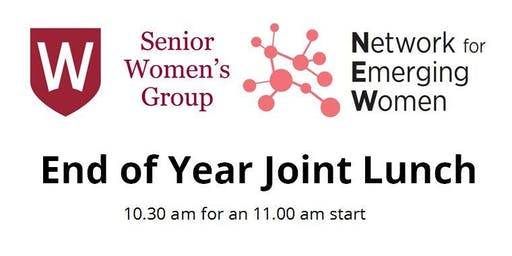 Network for Emerging Women End of Year Lunch - with  Senior Women's Group