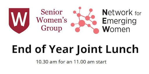 Senior Women's Group End of Year Lunch - with Network for Emerging Women