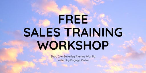 Sales Training Workshop - Small Business Wollongong