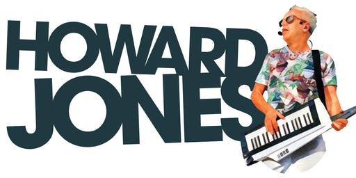 Howard Jones Acoustic Trio Tour