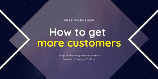 How to get more customers - Illawarra region