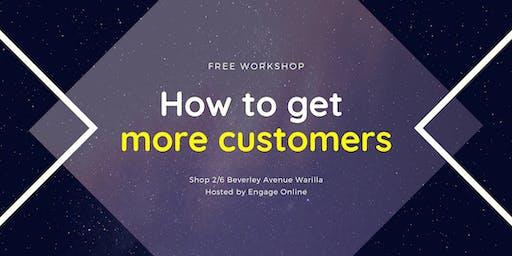 How to get more customers - Illawarra region