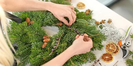 How to make a Christmas Wreath tickets
