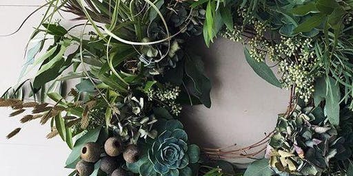 Everlasting Christmas Wreath Workshop