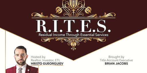 R.I.T.E.S. For Realtors - Lunch and Learn Nov 21, 2019