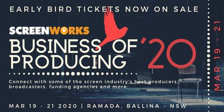 Screenworks' The Business of Producing Seminar 2020 tickets