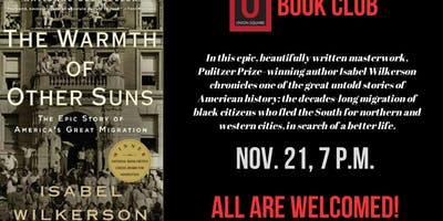 Book Discussion: The Warmth of Other Suns by Isabel WIlkerson