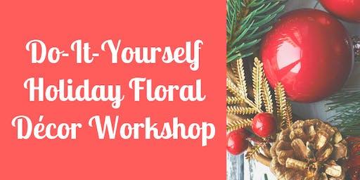 ABM Floral Studio's Holiday Floral Decor Workshop