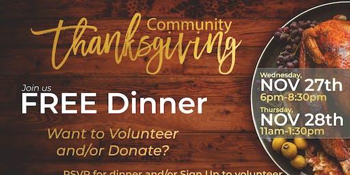 Community Thanksgiving 2019