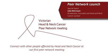 Launch of the Victorian Head & Neck Cancer Education & Support Group tickets