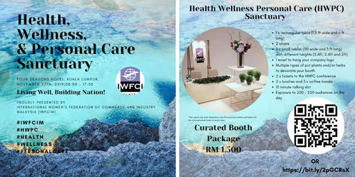 Health Wellness Personal Care Sanctuary 201`9